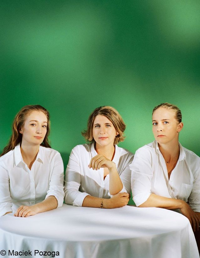 Des femmes chefs : Virginie Basselot , Stéphanie Le Quellec et Amandine Chaignot