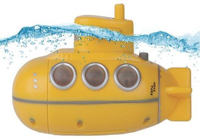 Radio de douche sous marin