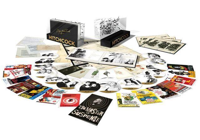 « Alfred Hitchcock. Coffret 14 films Blu Ray » 149 €