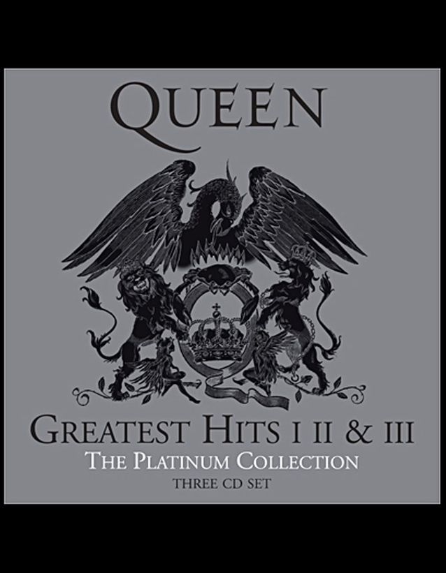 « Greatest hits I, II & III – The Platinum collection », Queen, 20 €