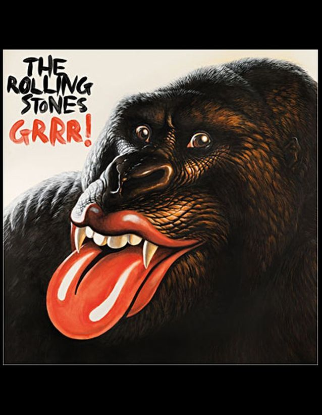 « Grrr ! », Rolling Stones, 37 €