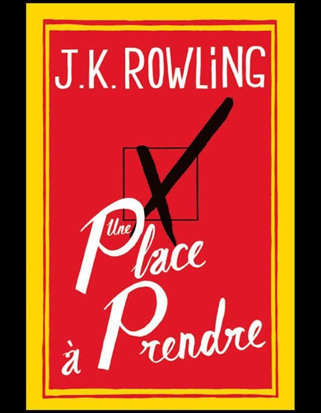 « Une place à prendre », J.K. Rowling, 15,99 €