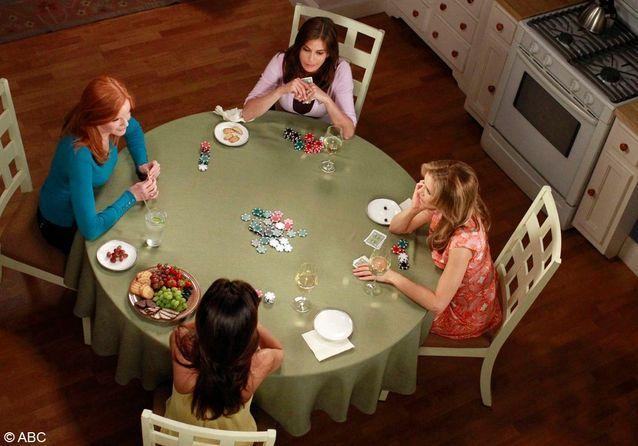 Le poker des « Desperate Housewives »