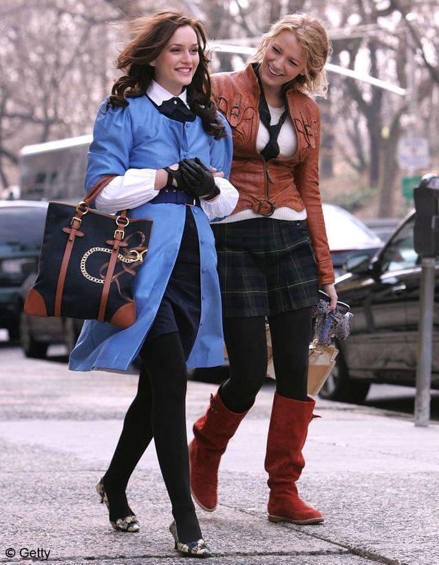 Le style preppy de « Gossip Girl »