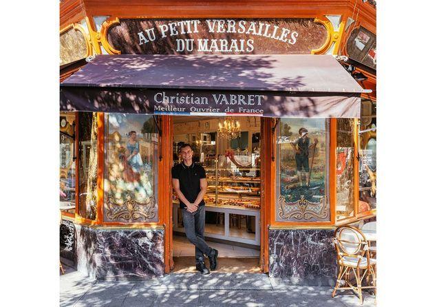 Au petit Versailles du Marais, avec Julien Houssais