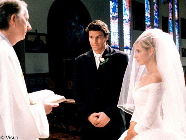 Buffy et Angel de « Buffy contre les vampires »