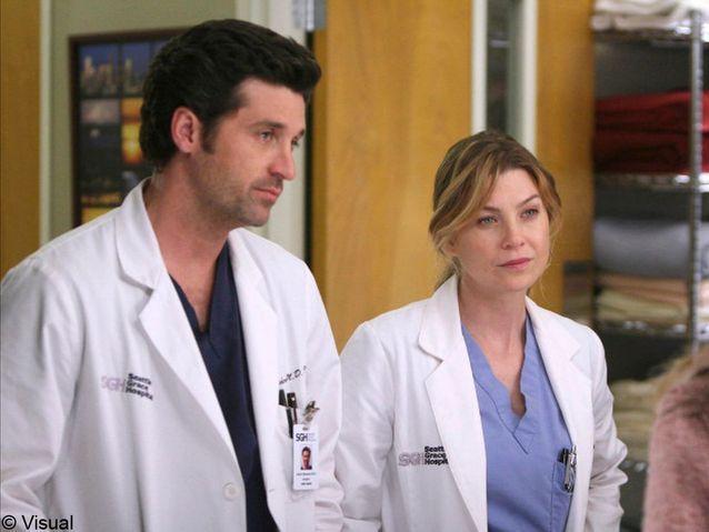 Meredith et Docteur Mamour de « Grey's Anatomy »