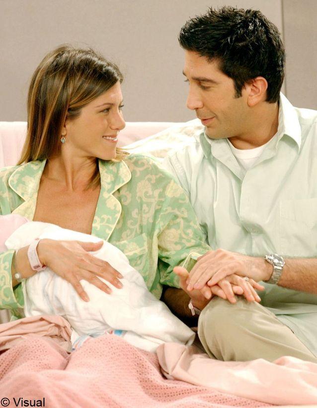 Ross et Rachel de « Friends »