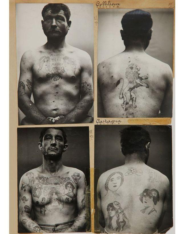 Photos anthropométriques de la préfecture de police de Lyon, de 1920 à 1940.