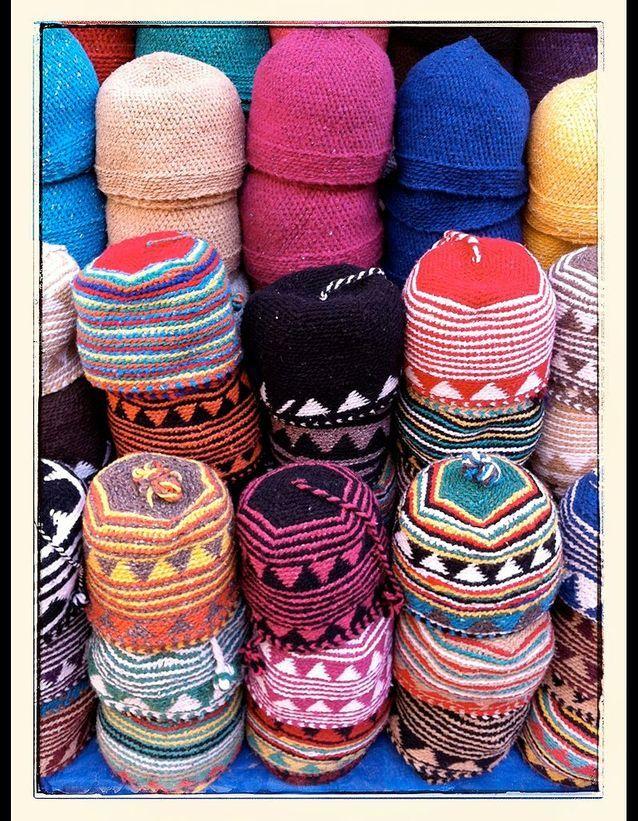 Des bonnets en laine