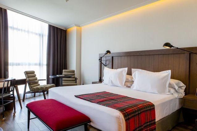 Une belle chambre d'hôtel à Madrid