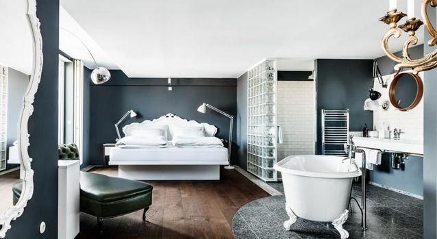 Une belle chambre d'hôtel à Vienne