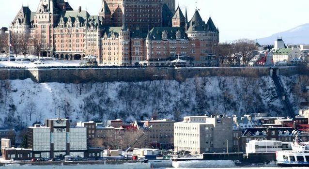 A Québec au Canada