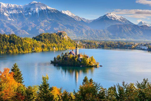 Au lac de Bled en Slovénie
