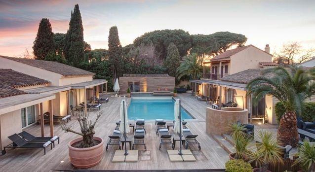 Une villa de luxe à Saint-Tropez