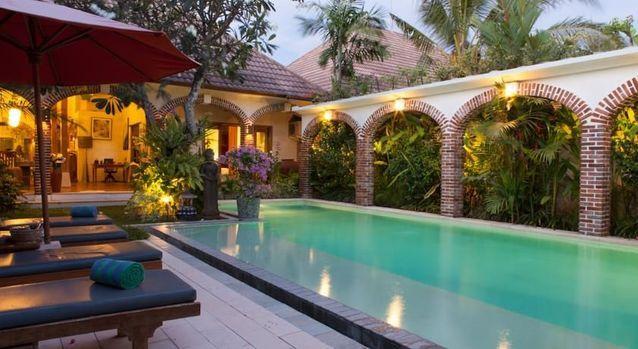 Une villa de luxe en Indonésie
