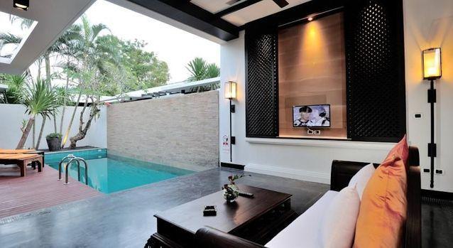 Une villa de luxe en Thaïlande