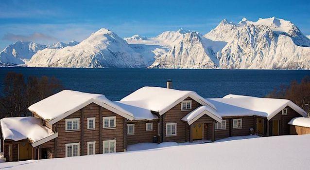 Le Lyngen Lodge en Norvège