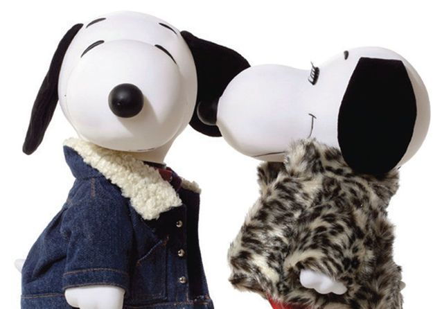 Quand les couturiers relookent Snoopy !