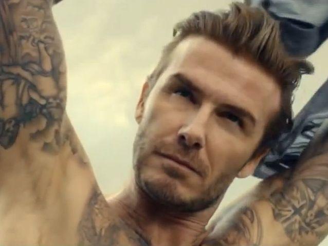 David Beckham pour H&M (2014)