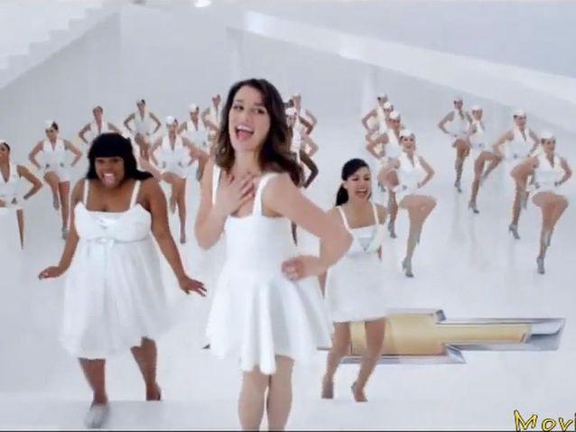 Le casting de «Glee» pour Chevrolet (2011)