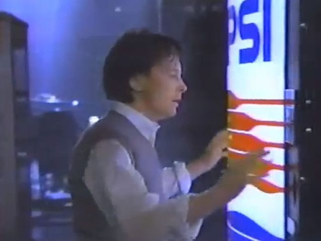 Michael J. Fox pour Diet Pepsi (1987)