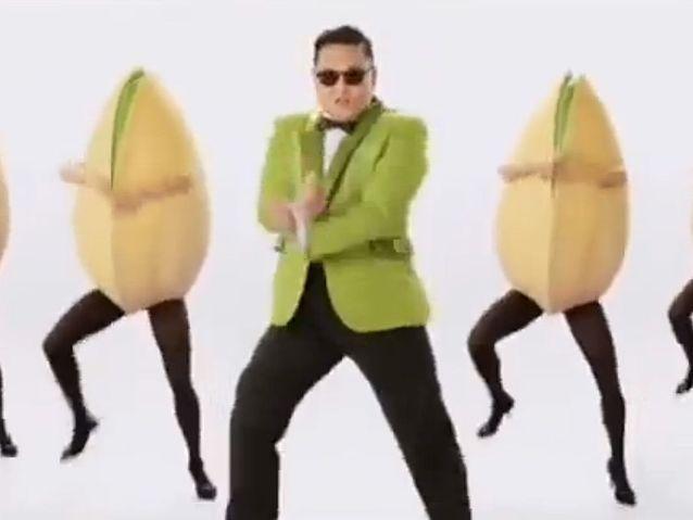 Psy pour Wonderful Pistachios (2013)