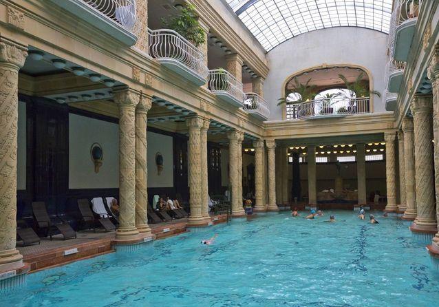 La piscine Château-Landon