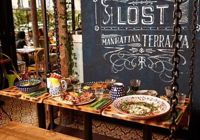 Restaurant italien à paris : Manhattan Plaza