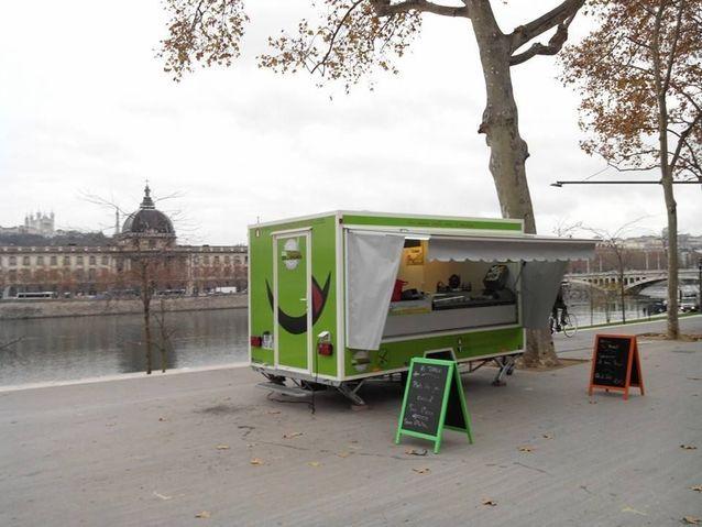 Le food truck Ma cantine gourmande, à Lyon