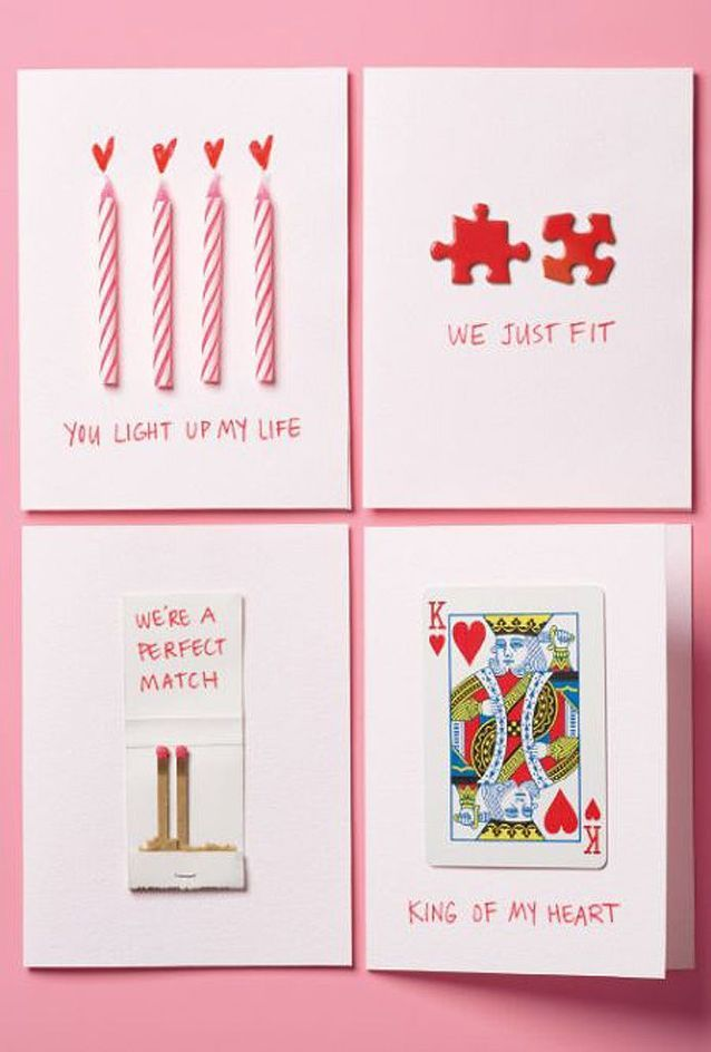 Carte Saint-Valentin à faire soi même