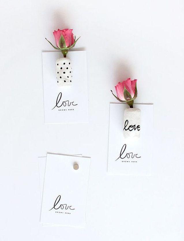 Carte Saint-Valentin romantique