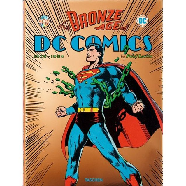 Livre Bronze Age of DC Comics Taschen The Cool Republic, 40€