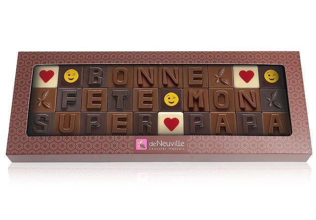 Des chocolats personnalisables