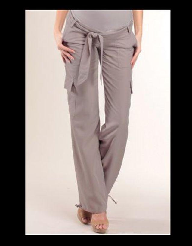 11 Pantalon grossesse tallia taupe