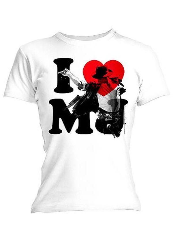 T-shirt à l'effigie de Michael Jackson