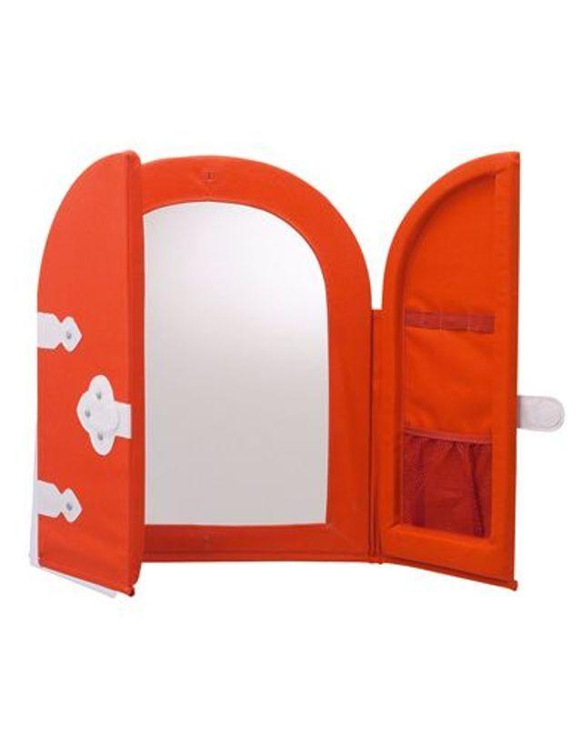 Miroir Ikea - 50 idées déco pour une chambre d\'enfant - Elle