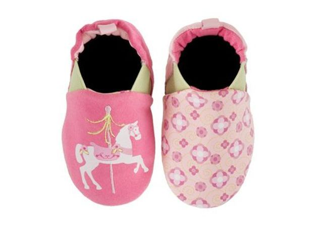Chaussures souples réversible, Merry Carousel rose, Robeez