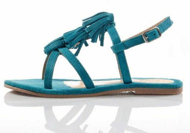 Sandales à franges La Redoute