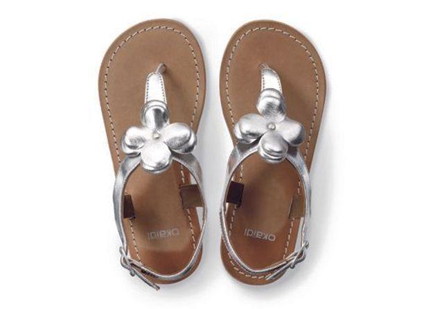 Tong sandale à fleur Okaïdi