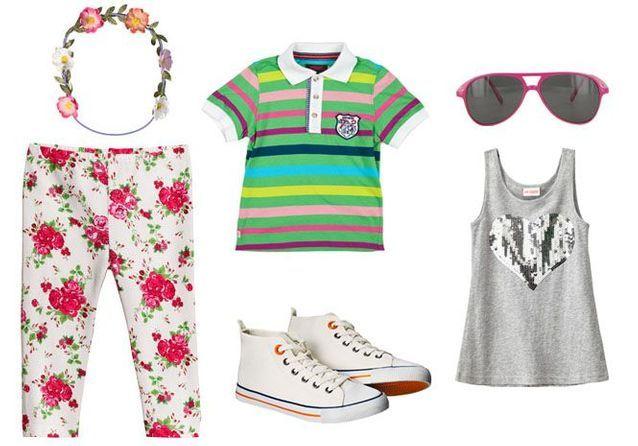 Mode enfant : 12 tenues estivales