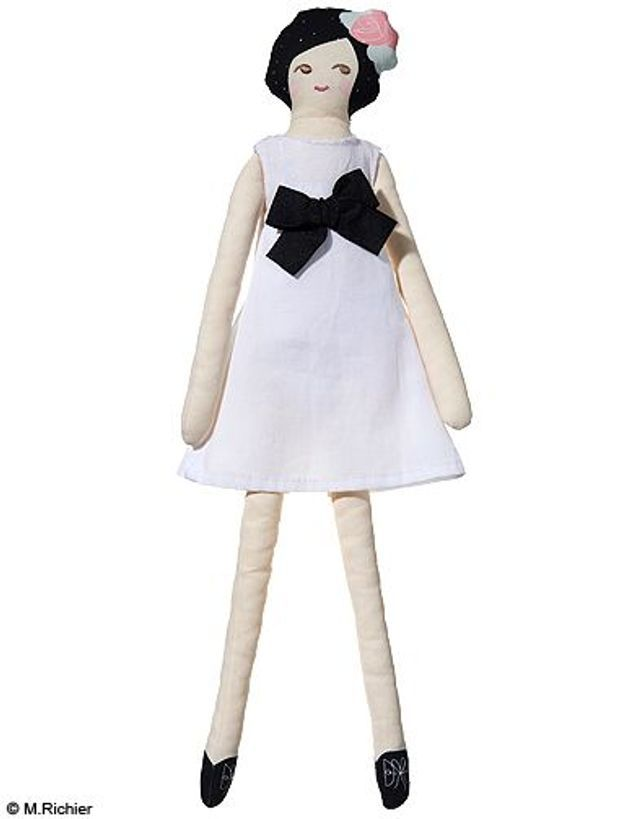 Poupée en coton, Baby Dior