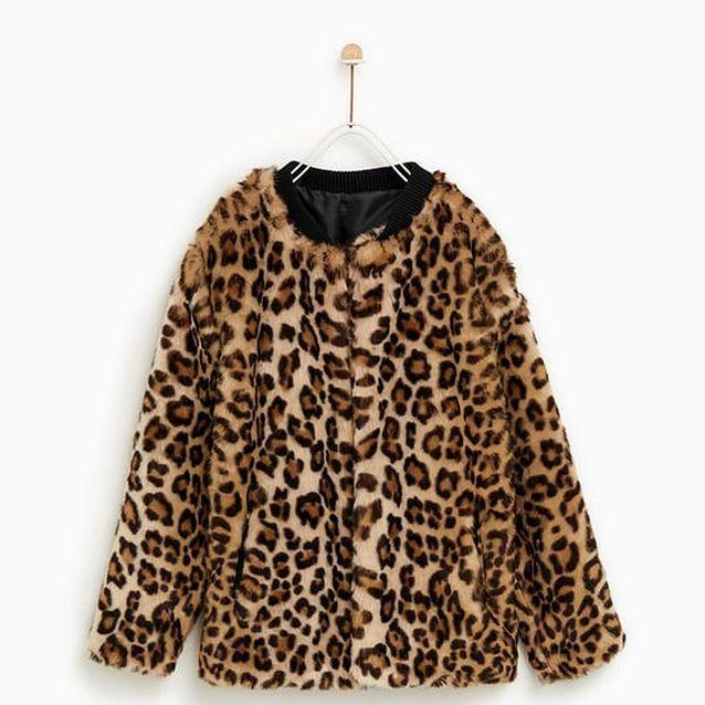 Manteau léopard Zara