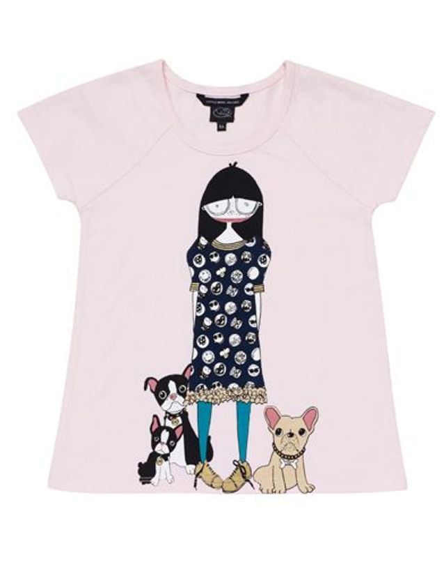 T-Shirt Hanora Little Marc Jacobs