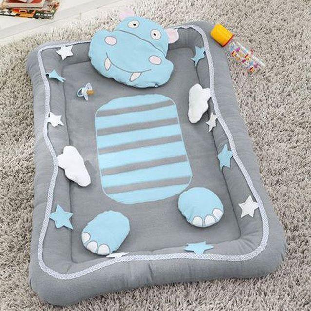 Tapis d'éveil hippopotame