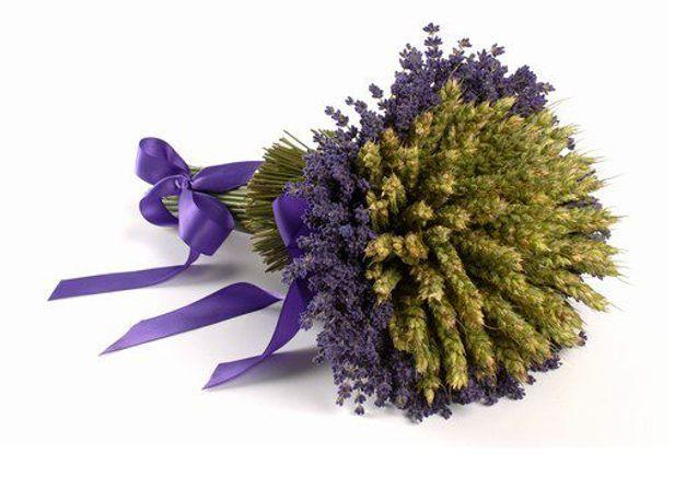 Bouquet de mariee lavande m