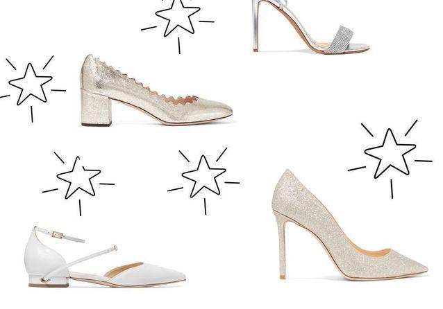 Chaussures de mariée : 25 paires pour le jour J