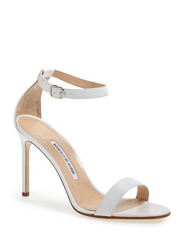 Chaussure de mariée de luxe Manolo Blahnik printemps été 2015