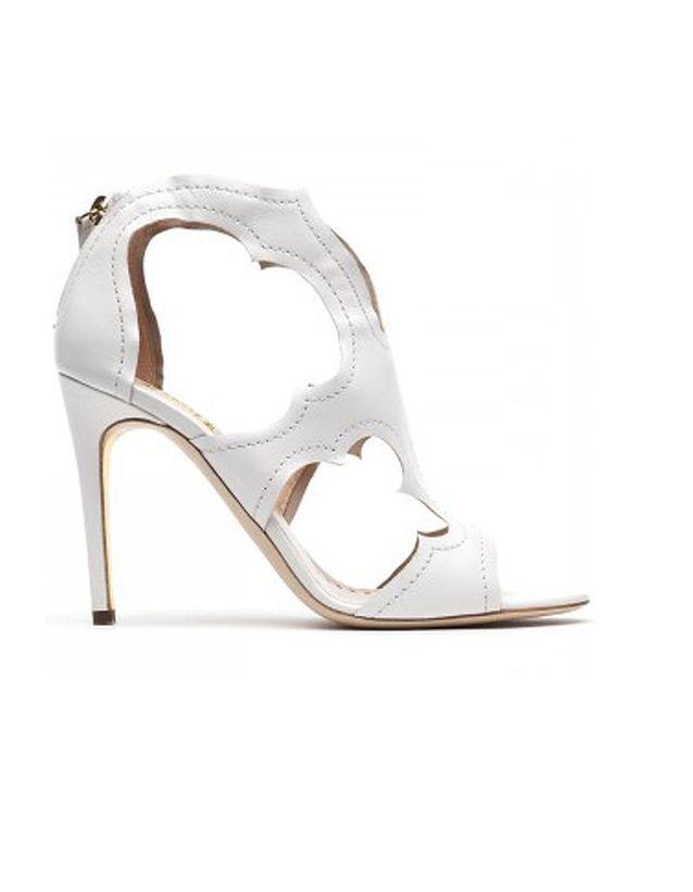 Chaussure de mariée haut talon Rupert Sanderson printemps été 2015