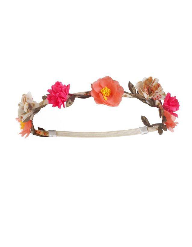 Headband Fleurs Roses
